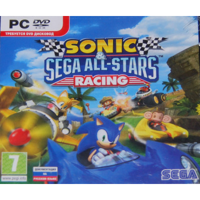 Sonic & SEGA All-Stars Racing [PC, Jewel, русская документация]