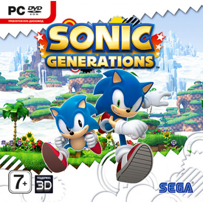 Sonic Generations [PC, Jewel, русская документация]