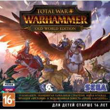 Total War: WARHAMMER. Old World Edition [PC, Jewel, русская версия]