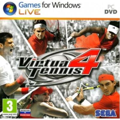 Virtua Tennis 4 [PC, Jewel, русская документация]