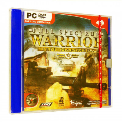 Full Spectrum Warrior: Ten Hammers [PC, Jewel, русские субтитры]