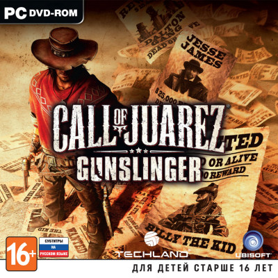 Call of Juarez: Gunslinger [PC, Jewel, русские субтитры]