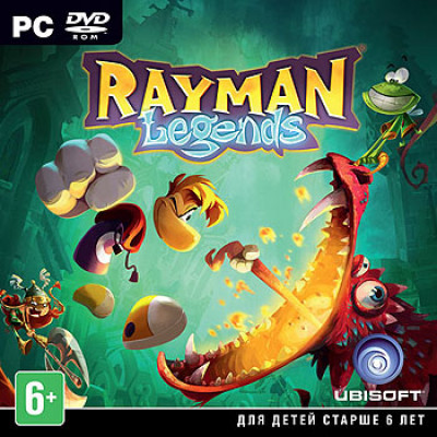 Rayman Legends [PC, Jewel, русская версия]