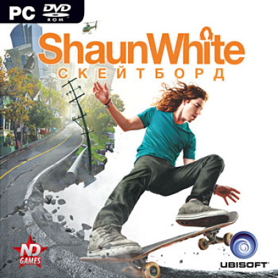Shaun White: Скейтборд [PC, Jewel, русская версия]