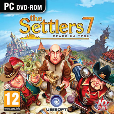 The Settlers 7: Право на трон [PC, Jewel, русская версия]