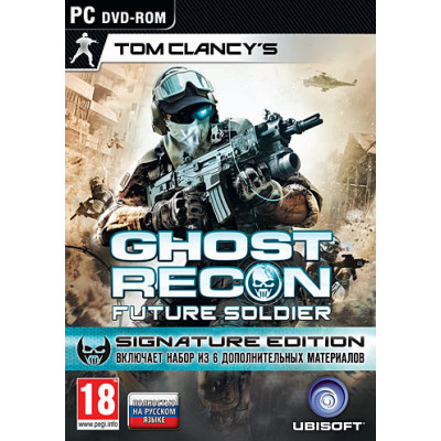 Tom Clancy's Ghost Recon Future Soldier. Signature Edition [PC, русская версия]