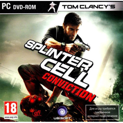 Tom Clancy's Splinter Cell: Conviction [PC, Jewel, русские субтитры]