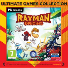 Rayman Origins (Ultimate Games) [PC, Jewel, русская версия]