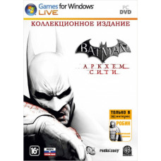 Batman: Аркхем Сити. Коллекционное издание (Специальное издание для 1С Интерес (с поддержкой 3D)) [PC, русские субтитры]