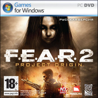F.E.A.R 2: Project Origin [PC, Jewel, русская версия]