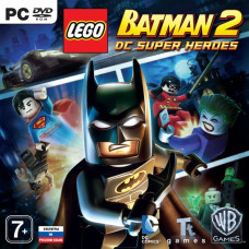LEGO Batman 2: DC Super Heroes [PC, Jewel, русские субтитры]