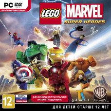 LEGO Marvel Super Heroes [PC, Jewel, русские субтитры]