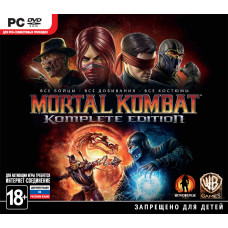 Mortal Kombat. Komplete Edition [PC, Jewel, русская документация]