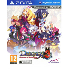 Disgaea 3: Absence of Detention [PS Vita, английская версия]