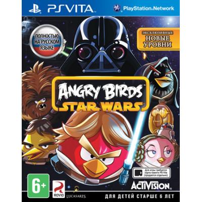 Angry Birds Star Wars [PS Vita, русская документация]