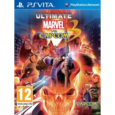 Ultimate Marvel vs Capcom 3 [PS Vita, английская версия]