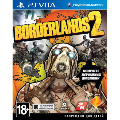 Borderlands 2 [PS Vita, русская документация]