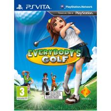 Everybody's Golf World Tour [PS Vita, русская документация]