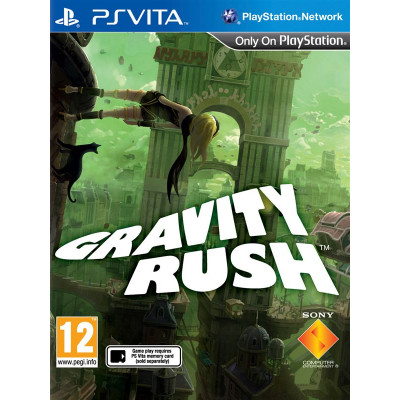 Gravity Rush [PS Vita, русская документация]