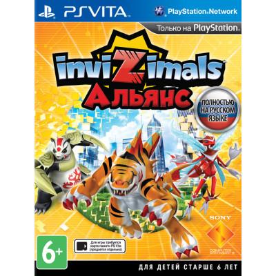 Игра для PlayStation Vita Invizimals: Альянс (русская версия)