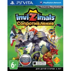 Invizimals: Сопротивление [PS Vita, русская версия]