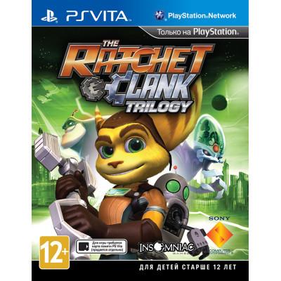 Ratchet & Clank Trilogy [PS Vita, английская версия]