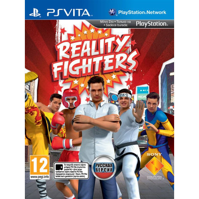 Reality Fighters [PS Vita, русская версия]