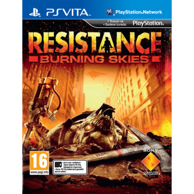 Resistance Burning Skies [PS Vita, русская версия]