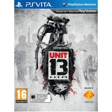 Unit 13 [PS Vita, русская версия]