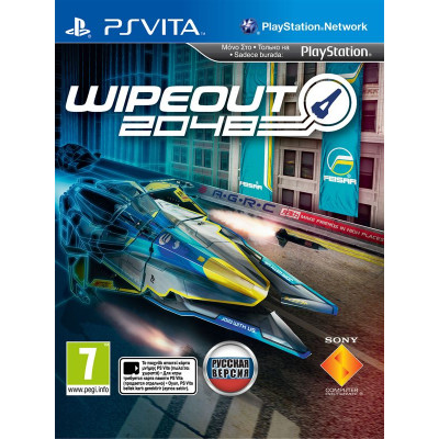 WipEout 2048 [PS Vita, русская версия]