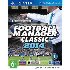 Football Manager Classic 2014 [PS Vita, русская версия]