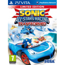 Sonic & All-Star Racing Transformed. Limited Edition [PS Vita, русская документация]
