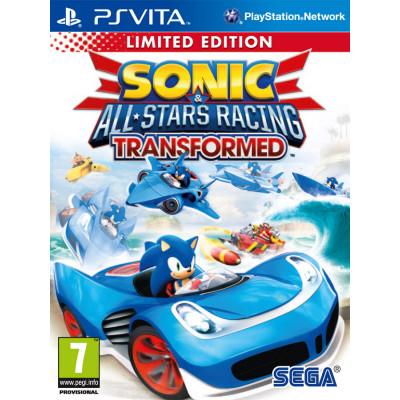Игра для PlayStation Vita Sonic & All-Star Racing Transformed. Limited Edition (русская документация)