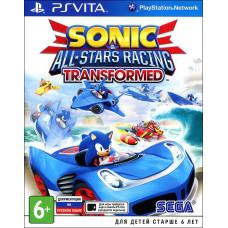 Sonic & All-Star Racing Transformed [PS Vita, русская документация]