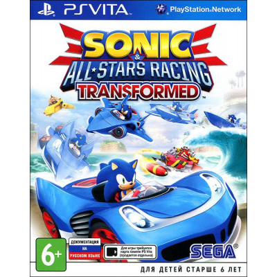 Sonic & All-Star Racing Transformed [PS Vita, русская документация]