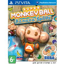 Super Monkey Ball Banana Splitz [PS Vita, русская документация]