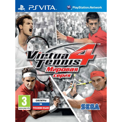 Игра для PlayStation Vita Virtua Tennis 4: Мировая серия (русская версия)