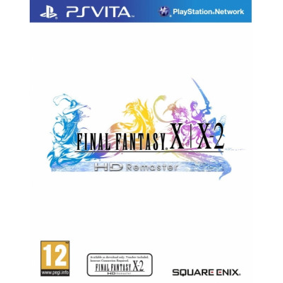 Final Fantasy X/X-2 HD Remaster [PS Vita, русская документация]