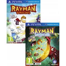 Комплект «Rayman Legends» + «Rayman Origins» [PS Vita, русская версия]