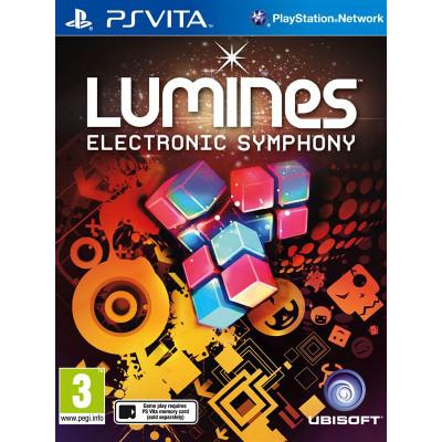 Lumines: Electronic Symphony [PS Vita, русская документация]
