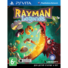 Rayman Legends [PS Vita, русская документация]