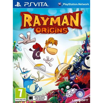 Rayman Origins [PS Vita, русская документация]