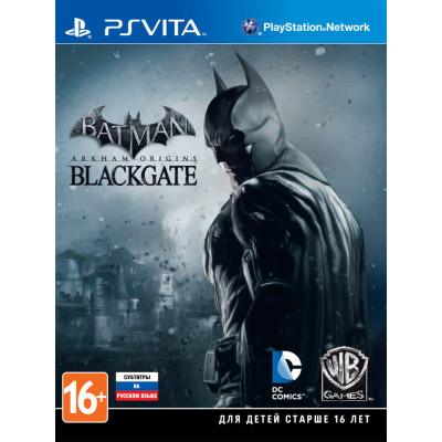 Batman: Arkham Origins: Blackgate [PS Vita, русские субтитры]