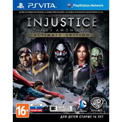 Injustice: Gods Among Us. Ultimate Edition [PS Vita, русские субтитры]