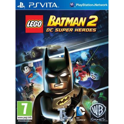 LEGO Batman 2: DC Super Heroes [PS Vita, русские субтитры]