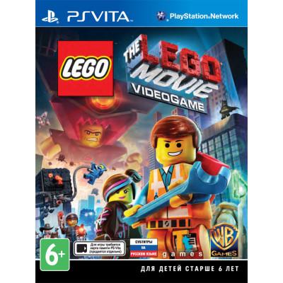 LEGO Movie Videogame [PS Vita, русские субтитры]