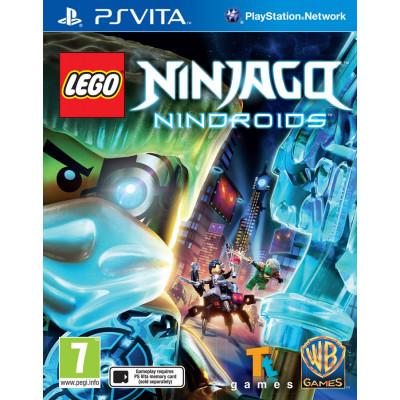 LEGO Ninjago: Nindroids [PS Vita, русские субтитры]