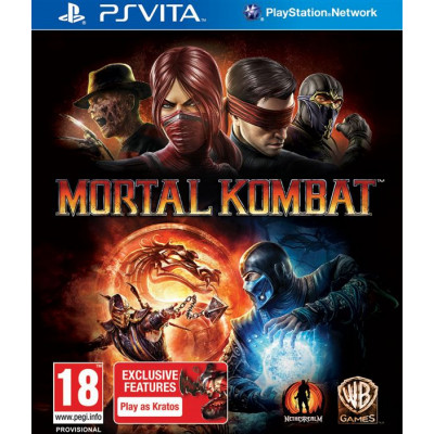 Mortal Kombat [PS Vita, русская документация]