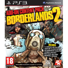 Borderlands 2 - Add-On Content Pack [PS3, английская версия]