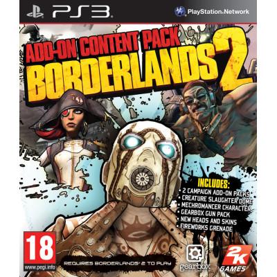 Borderlands 2 - Add-On Content Pack [PS3, английская версия]
